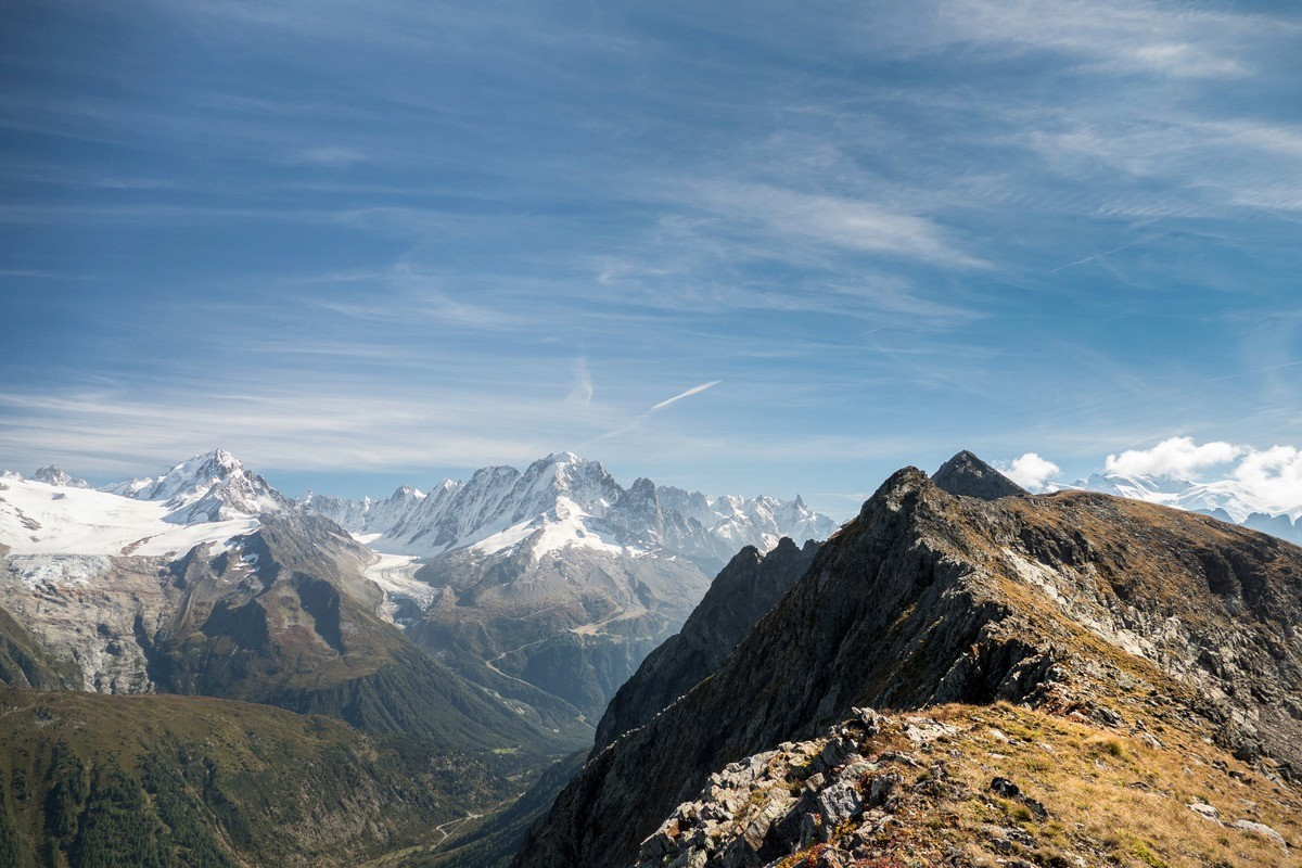 Tour et sommet de l'Aiguille de Loriaz P710