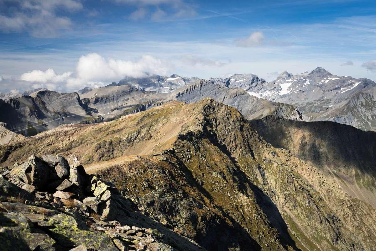 Tour et sommet de l'Aiguille de Loriaz P810