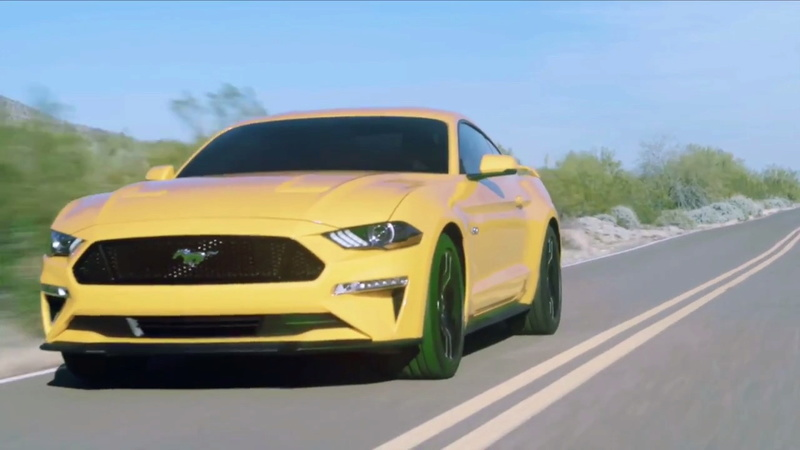 2014 - [Ford] Mustang VII - Page 14 2018-f40