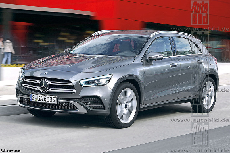 mercedes - 2020 - [Mercedes] GLA II Merce121