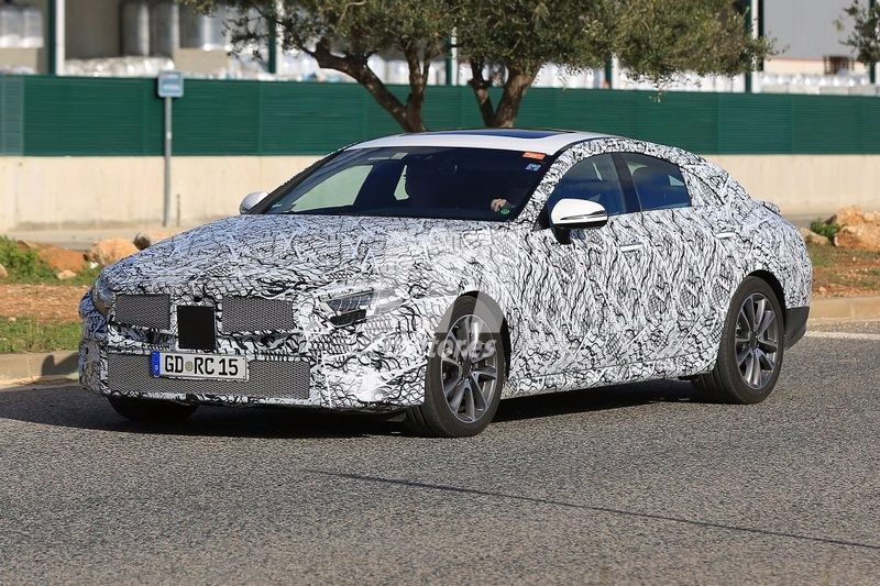 2018 - [Mercedes] CLS III  Merced40