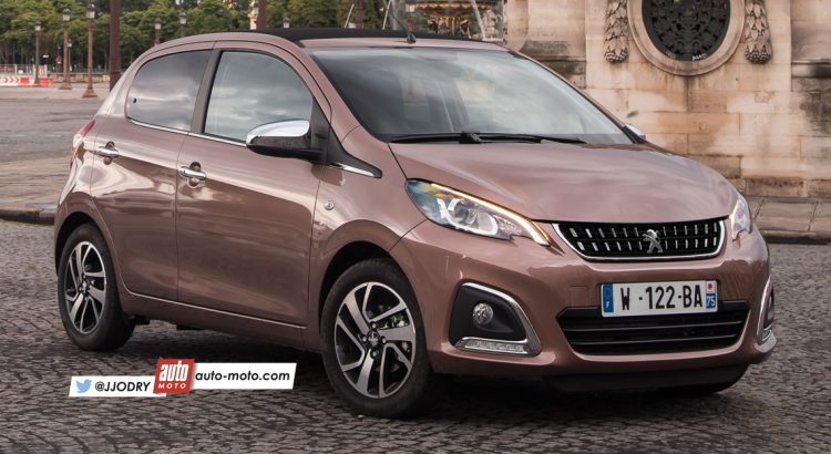 2018 - [Citroën/Peugeot/Toyota] C1 II/108/ Aygo II restylées Peugeo11