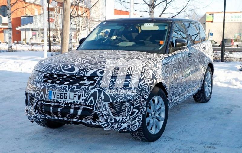2017 - [Land Rover] Range Rover/ Sport/ SVR restylés Range-21