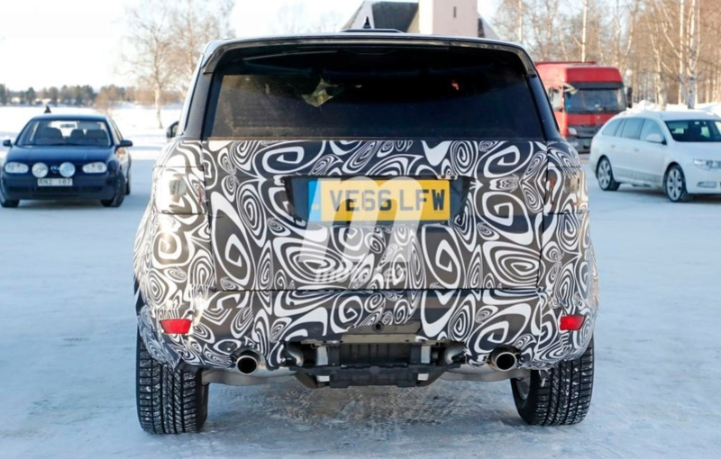 2017 - [Land Rover] Range Rover/ Sport/ SVR restylés Range-28