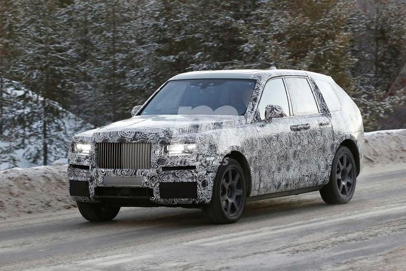 2017 - [Rolls-Royce] SUV Cullinan - Page 8 Rolls-10