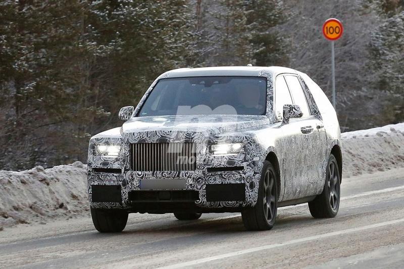 2017 - [Rolls-Royce] SUV Cullinan - Page 8 Rolls-11