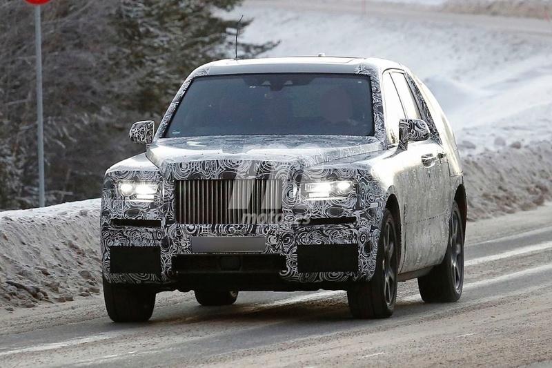 2017 - [Rolls-Royce] SUV Cullinan - Page 8 Rolls-12