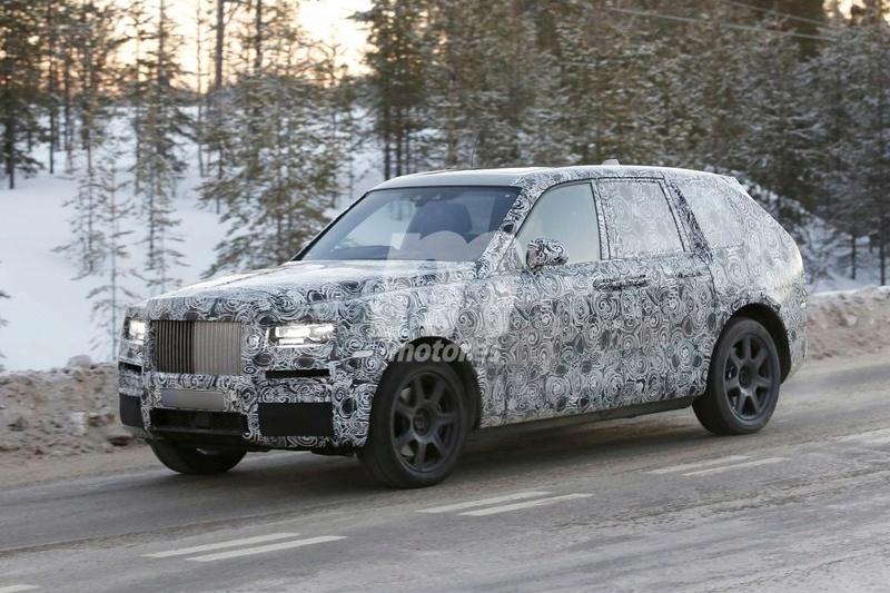 2017 - [Rolls-Royce] SUV Cullinan - Page 8 Rolls-13