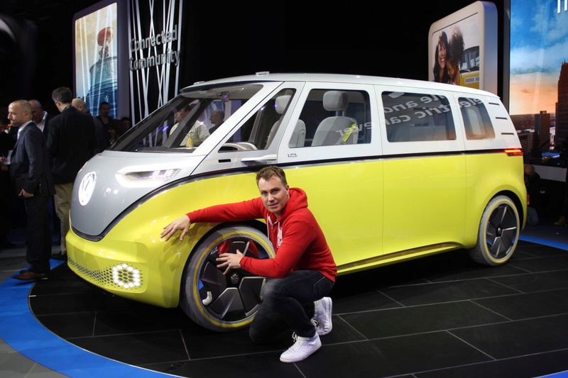 2017 - [Volkswagen] Electric VW Microbus concept Vw-i-d11