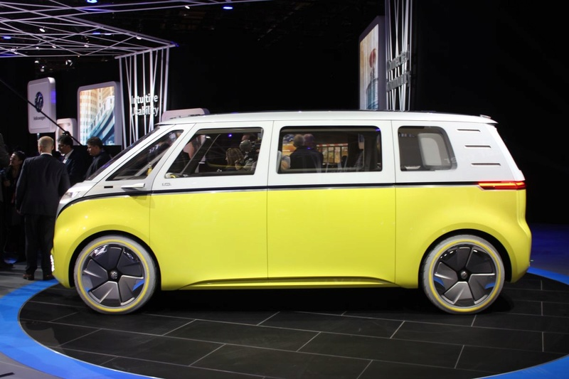 2017 - [Volkswagen] Electric VW Microbus concept Vw-i-d17