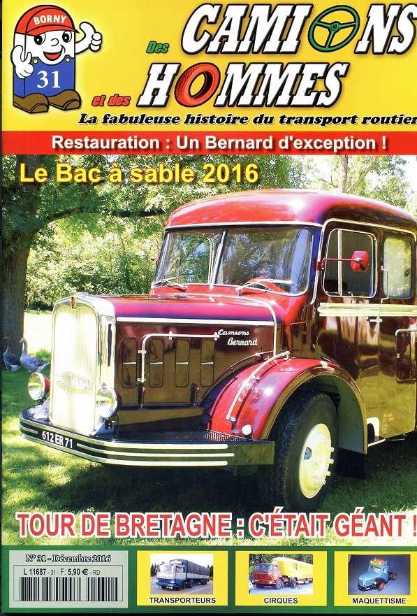le numéro 31 du magazine des Camions et des Hommes Des_ca10