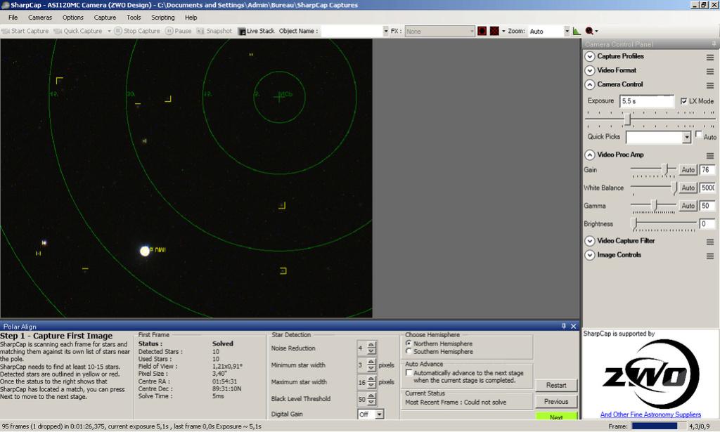 Faire une mise en station précise, simple et rapide en nomade Img210
