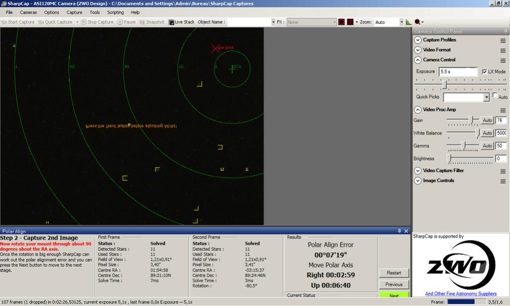 Faire une mise en station précise, simple et rapide en nomade Img310