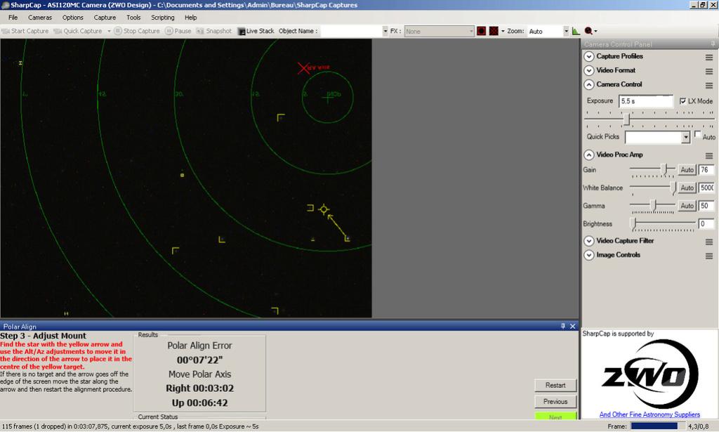 Faire une mise en station précise, simple et rapide en nomade Img410