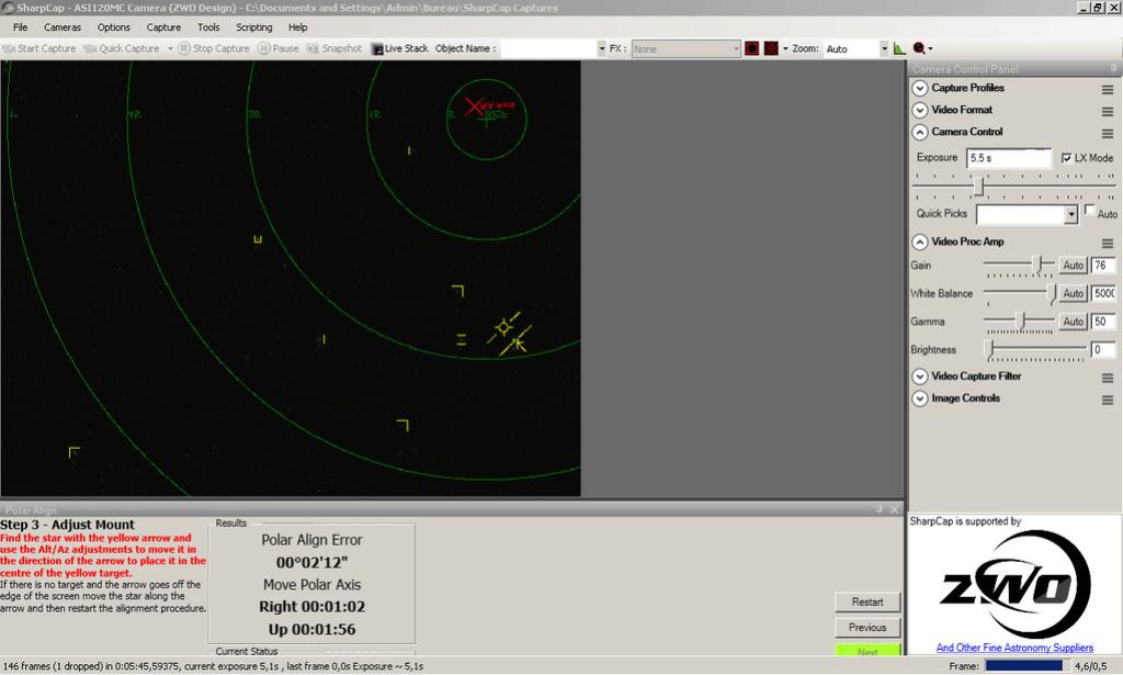 Faire une mise en station précise, simple et rapide en nomade Img510