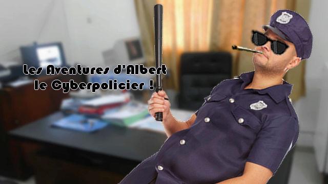 Les Aventures d'Albert le Cyberpolicier ! Intro11