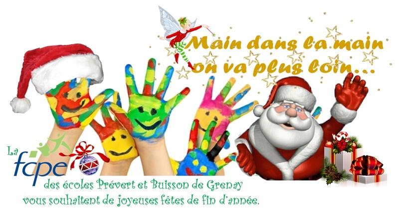 Affiche marché de Noël des parents d'élèves Logo_a10