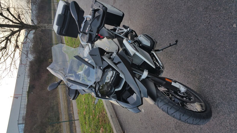 ma BMW 1200GS triple black a la maison  20161225