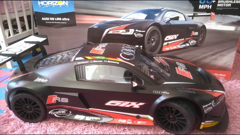 mes voitures 1/5, LOSI Desert buggy 1/5e XL-E RTR 4WD 8s, Adui R8 LMS 14779810