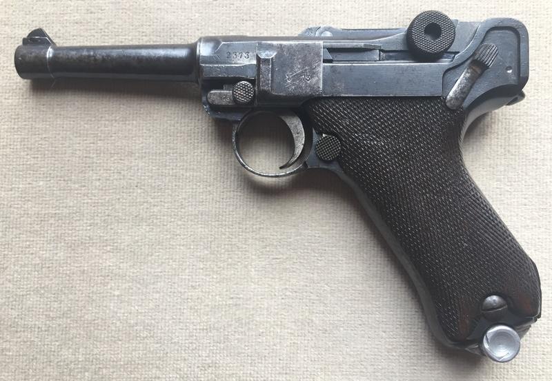 Les P 08 Simson & Co, à Suhl, sous la république de Weimar. Img_2514