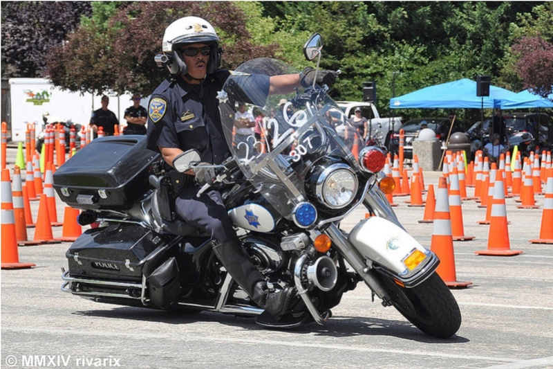 Police Motorcycle  310