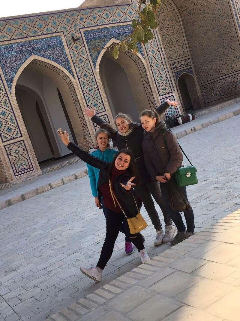 Соревнования в Узбекистане  0-02-015