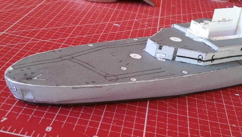 Schulschiff Deutschland 1:250 Heck10