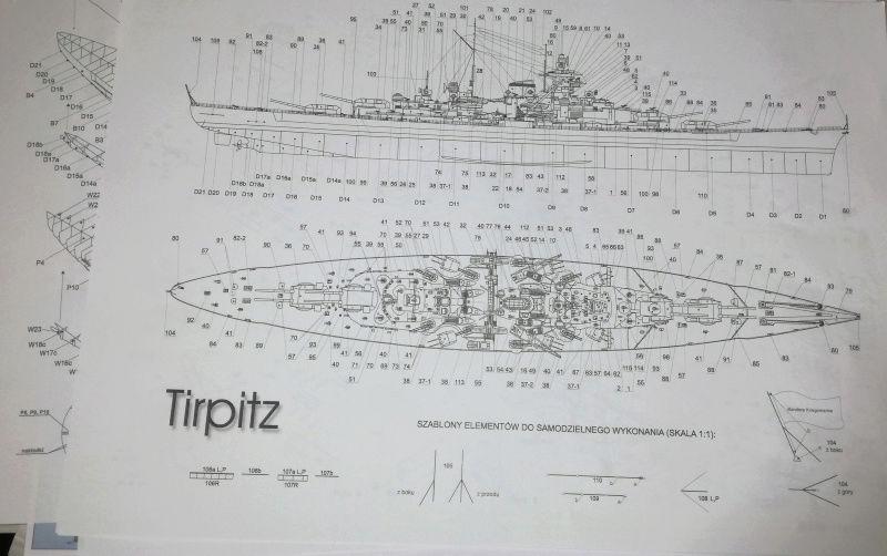 Schlachtschiff Tirpitz 1:250 GPM Tirpit12