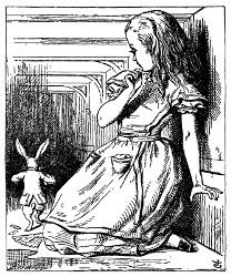 Alice au pays des merveilles et De l'Autre Côté du miroir (Lewis Carroll, 1865, 1871) Alice210