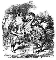 Alice au pays des merveilles et De l'Autre Côté du miroir (Lewis Carroll, 1865, 1871) Alice310