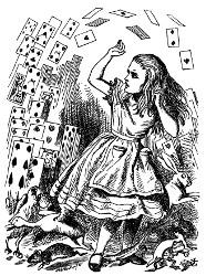 Alice au pays des merveilles et De l'Autre Côté du miroir (Lewis Carroll, 1865, 1871) Alice510