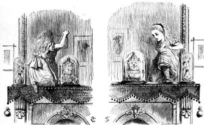 Alice au pays des merveilles et De l'Autre Côté du miroir (Lewis Carroll, 1865, 1871) Alice610