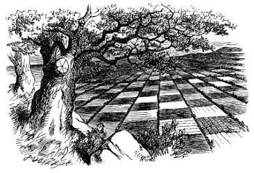 Alice au pays des merveilles et De l'Autre Côté du miroir (Lewis Carroll, 1865, 1871) Alice710