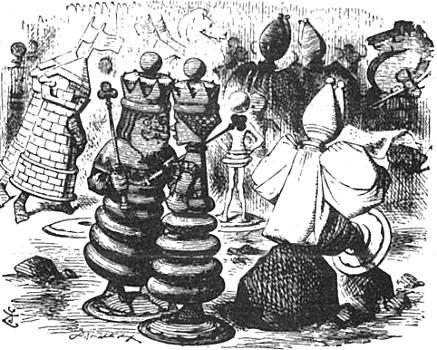Alice au pays des merveilles et De l'Autre Côté du miroir (Lewis Carroll, 1865, 1871) Alice_11