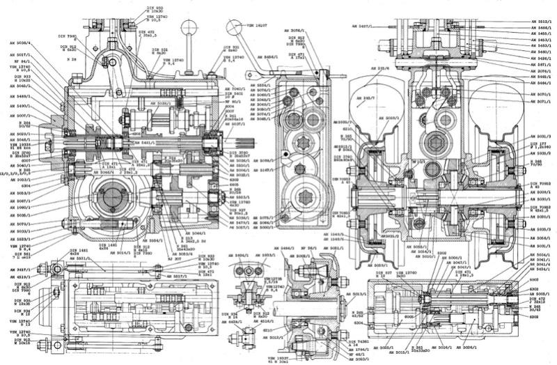 Aebi - aebi am 30 avec moteur universal 420  Moteur10