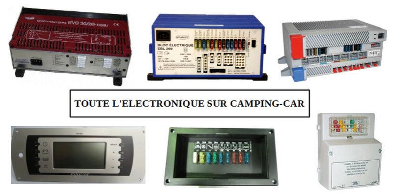réparation électronique camping car