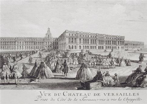Vues anciennes du Château de Versailles et de son Domaine - Page 2 0da45410
