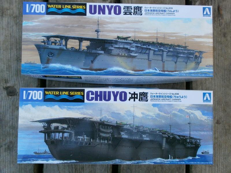 IJN Aircraft Carriers 1/700 : CHUYO & UNYO  115