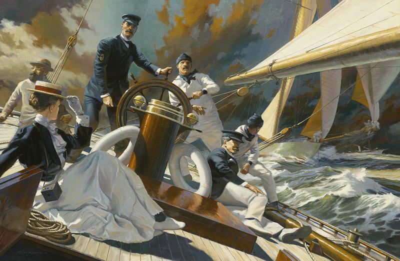 LES FONDS D'ECRANS - Page 2 Yacht-42