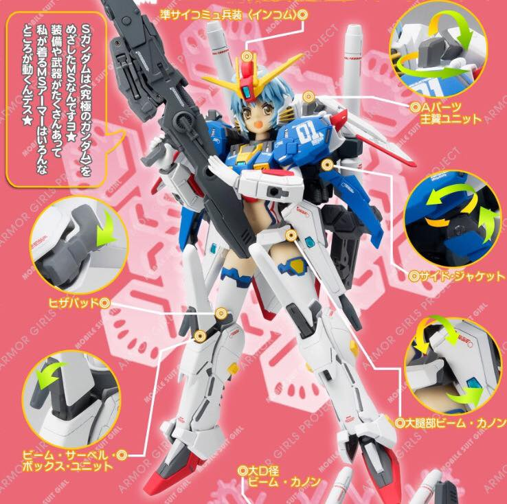 Gundam Fix Figuration AGP (Armor Girls Project) V310