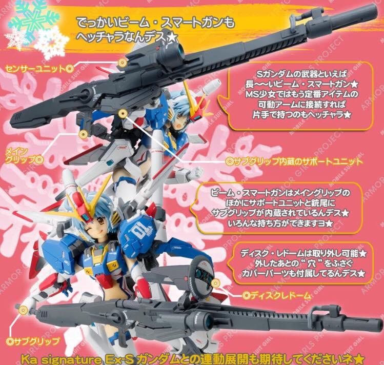 Gundam Fix Figuration AGP (Armor Girls Project) V510