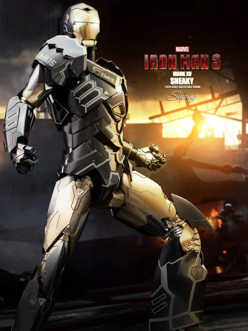 Iron Man 3 (Hot Toys) X1014