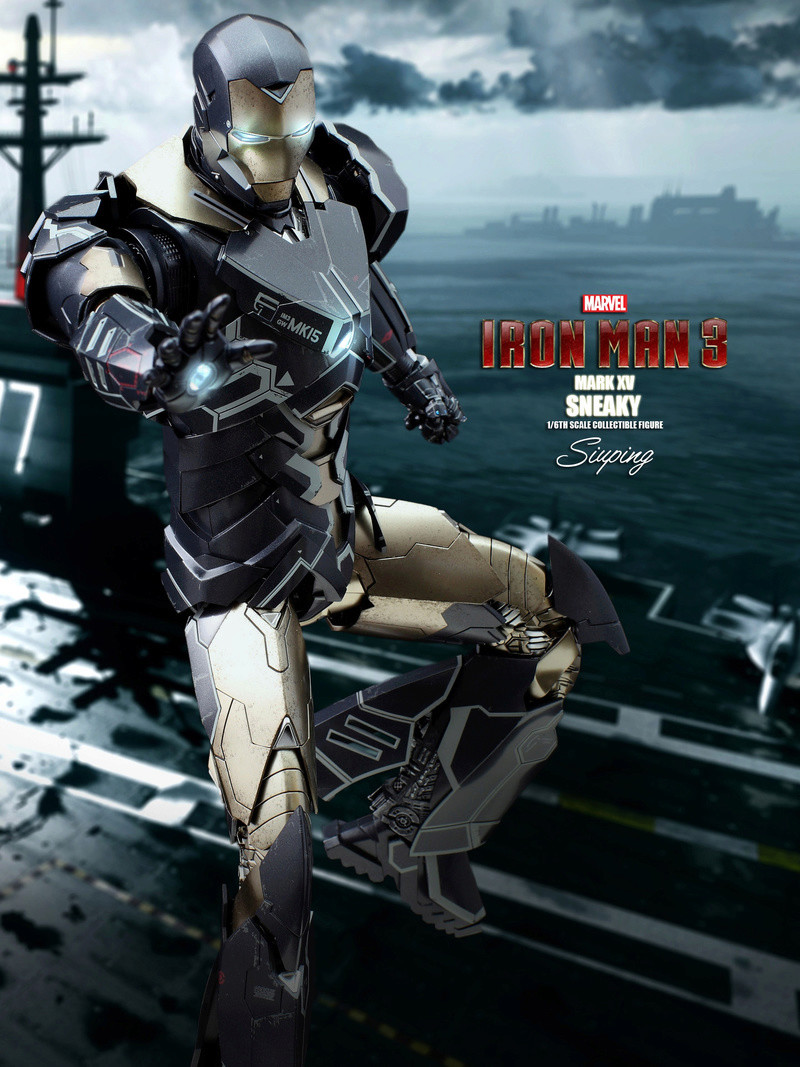 Iron Man 3 (Hot Toys) X1213