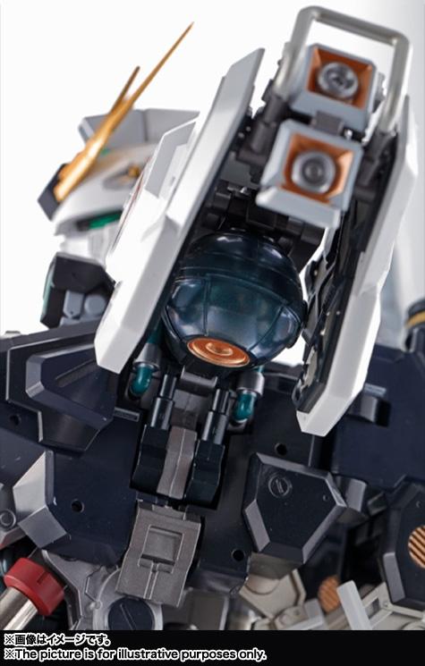 Nu Gundam Bust Display (Formania EX / Bandai) X1228