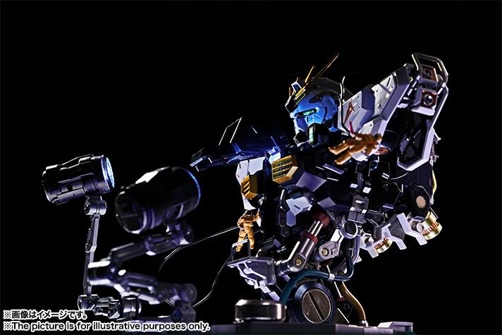 Nu Gundam Bust Display (Formania EX / Bandai) X131