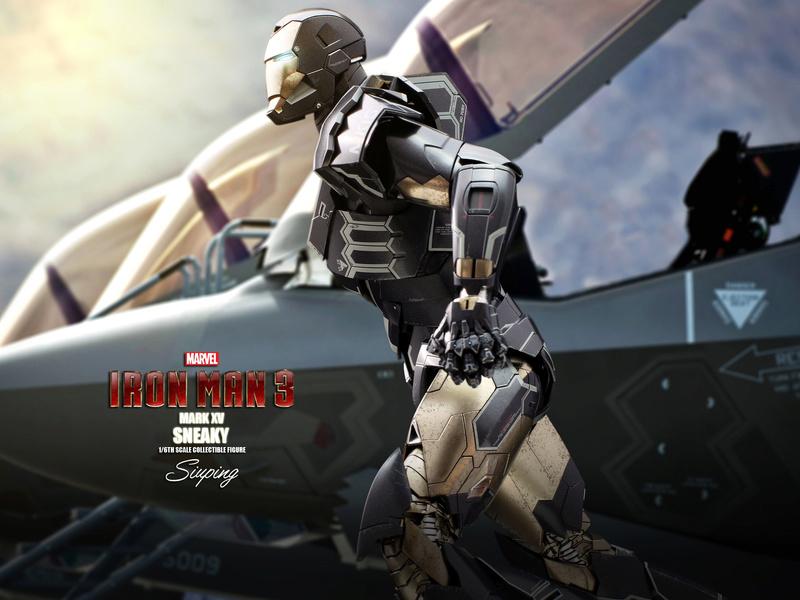 Iron Man 3 (Hot Toys) X1314