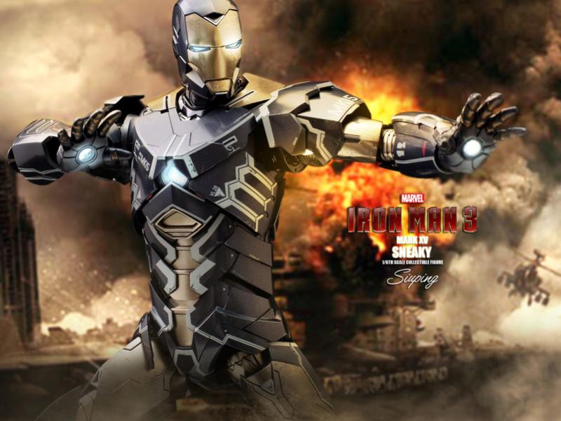 Iron Man 3 (Hot Toys) X1413