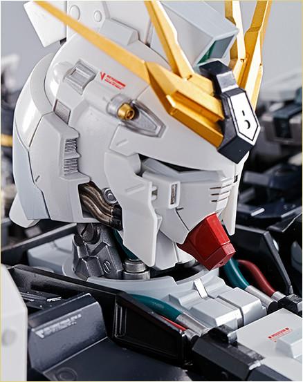 Nu Gundam Bust Display (Formania EX / Bandai) X1424