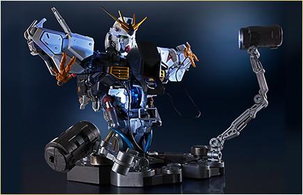 Nu Gundam Bust Display (Formania EX / Bandai) X1526