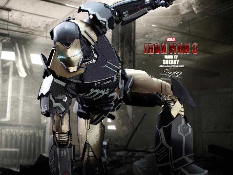 Iron Man 3 (Hot Toys) X1613